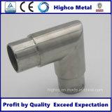 Coude convenable d'éclat en verre de balustrade d'acier inoxydable