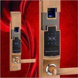 Le blocage de porte imperméable à l'eau de fonction électrique d'empreinte digitale avec le mot de passe de moteur se déverrouillent