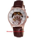 Het Horloge van de mooie Vrouwen van de Populier Automatische met de Echte Riem Fs602 van het Leer
