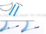 Câble de sauvetage de corde de saute de vitesse OEM PVC avec corde en acier