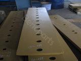 Tranchant plat conique de rechange 101-9435 de lame de classeur de tranchant de machines de construction double pour le bouteur