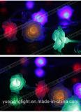 Chaîne de caractères en gros de lumière d'usager/Noël avec la bille de coton