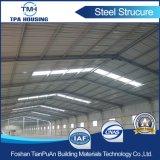 Cubierta prefabricada constructiva de la estructura de acero