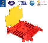 Protecteur r3fléchissant de câble de PVC de couverture de câble de protecteur de câble de sécurité routière/cinq glissières du câble Hump/5 de glissières avec la Manche 5