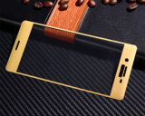 Вспомогательное оборудование 3D мобильного телефона вполне покрыло Silk предохранитель экрана Tempered стекла печатание для Сони XP