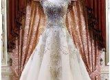 Шарика мантии поезда Bridal платья 2017 венчания Rfl005