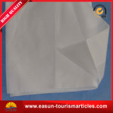 Cubierta de la almohadilla de la línea aérea con insignia de las aduanas y el color blanco