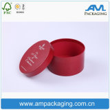 Rectángulo de empaquetado del regalo del embalaje del tubo redondo de encargo de papel de la insignia para la venta