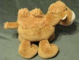 Giocattolo della peluche farcito cammello animale