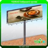 Forti tabelloni per le affissioni di pubblicità esterna della struttura da vendere