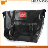 Le messager jaune noir rouge élégant de PVC de vélo folâtre des sacs