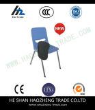 오른손잡이 Hzpc269는 정제 팔 파란 인간 환경 공학 쉘 플라스틱 의자를 튀긴다 위로