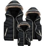 De qualité vêtement de Parent-Enfant de gilet de l'hiver de coton vers le bas