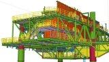 Инженерство изготовления Industury структуры стальной заварки тяжелое изготовленный на заказ стальное