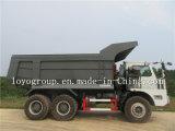 Carro de vaciado de la explotación minera de Sinotruk 6X4 40 toneladas para la venta