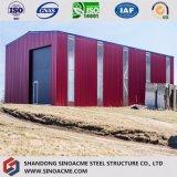 Высокопрочный пакгауз/Prefab стальной структуры полинянный/Wokshop