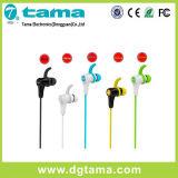 無線BluetoothのステレオのヘッドセットのヘッドホーンはMicが付いているHandfreeのイヤホーンを遊ばす