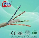 Gute Qualitäts-LAN-Kabel UTP CAT6 4pair entblössen festen Leiter