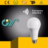 Indicatore luminoso di lampadina caldo dell'indicatore luminoso Emergency LED A60 9W con Ce