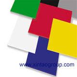 1220*2440mm 투명한 색깔 플렉시 유리는 광고를 위한 아크릴 장을 던졌다