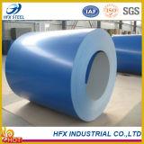 Bobina de aço galvanizada revestida azul dos produtos de aço da cor
