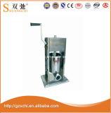 Máquina manual 3L del llenador de la salchicha de la alta calidad para la venta