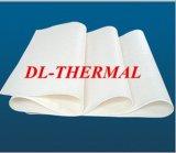 papel de alta temperatura 1400 da fibra cerâmica de isolação térmica do Zirconia de 3mm