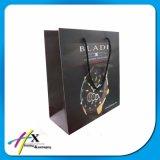 Sacs en papier de empaquetage de chocolat de cadeau cosmétique élégant fait sur commande de luxe de vêtements