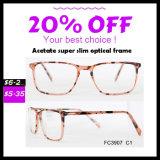Qualquer formato de cor disponível Super Slim Acetato Frame Optical