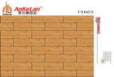 azulejos de suelo de cerámica esmaltados de madera del material de construcción de la inyección de tinta de 150X600m m (15603)