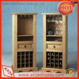 Estantes de visualización del vino de la tienda al por menor