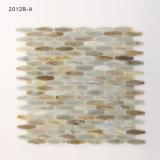 De veelkleurige Berijpte Bladen van de Tegel van het Mozaïek van het Glas van de Vloer met de Certificatie van Ce