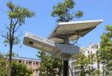 2017 intelligent alle in einem Solar-LED-Garten-Straßenlaterne