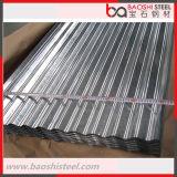 Hoja corrugada recubierta de zinc / Hoja de cubierta galvanizada