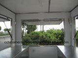 3개의 옆 창문 열리는 옥외 이동할 수 있는 소형 트럭 음식 (SHJ-MFS250가)