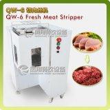 Scherpe Machine van de Plak van de Strook van het Vlees van het Varkensvlees van de Snijder van het vlees de Verse (qw-6)