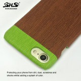Caja multicolora del teléfono celular de la PU Leather+PC del diseño de Shs para la zarzamora Z3