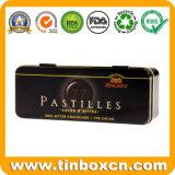 Rechteckiger eingehängter Zinn-Schokoladen-Kasten für Metallnahrungsmittelblechdose