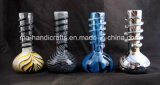 "8 "" tubos de agua del vidrio que fuman suave/tubos que fuman de cristal"