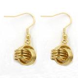 Heiße Schmucksache-runder Stift-Ohrring des Verkaufs-fantastische Gold18k