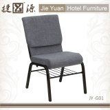 Manufacturer Gray Padded Church Furniture Chair (JY-G01)