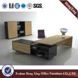 Meubles de bureau modernes L bureau exécutif de mélamine de forme (HX-ND5072)