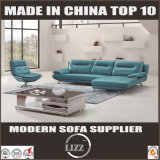 明るいカラー方法デザイン家具の居間のソファーの革