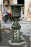 Plantador de la flor europea Macetas Jardinera de mármol