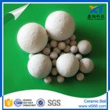 sfera di ceramica dell'allumina inerte di 3-50mm come media di sostegno del catalizzatore