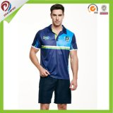 Atacado Custom Sublimated Dry Fit Custom Mens Polo Shirts