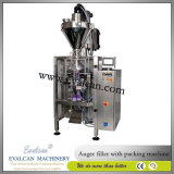 Grains de café automatiques pesant la machine de conditionnement