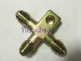 Tipo da mordida do RUÍDO 24 adaptadores hidráulicos dos encaixes de câmara de ar do cotovelo do grau