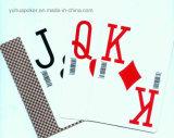 Tipo normal al por mayor tarjetas que juegan 100% del anuncio material del PVC Yh17