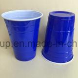cuvettes en plastique de boissons des cuvettes 16oz, couverts de couleur solide pour l'usager